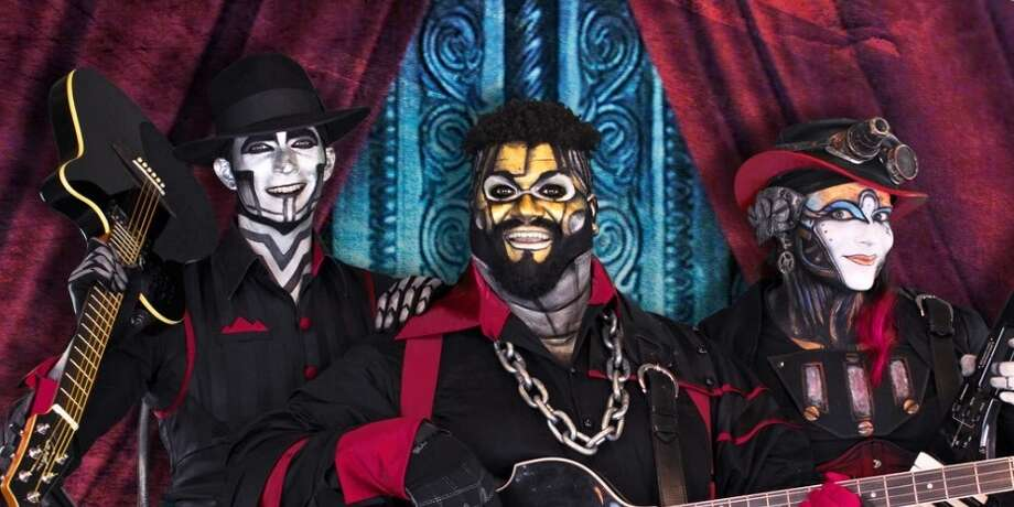 Steam Powered Giraffe (image from steampoweredgiraffe.com) Photo: Steam Powered Giraffe (image From Steampoweredgiraffe.com)