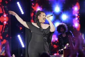 """San Antonio's Ada Vox, dressed in sultry black, wowed """"American Idol's"""" judges with her smoldering solo performance of Nina Simone's """"Feeling Good,"""" which helped land her in the Top 14."""