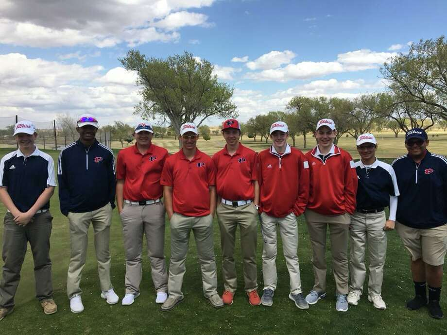 The Plainview High boys' golf team shot a 354 Monday at Canyon's Palo Duro Creek Golf Course in the final round of District 3-5A to card a 54-hole total of 1,051. That was strong enough to move the team into fifth place, behind Amarillo High, Canyon, Randall and Dumas. Team members are, from left, Kelton Offield (junior varsity), Ryan Jackson, Zach McDonough, Peyton McNutt, Peyton Straley (junior varsity), Cole Martin (junior varsity), Hayden Ellis and Dylan Resendez. Photo: Courtesy Photo