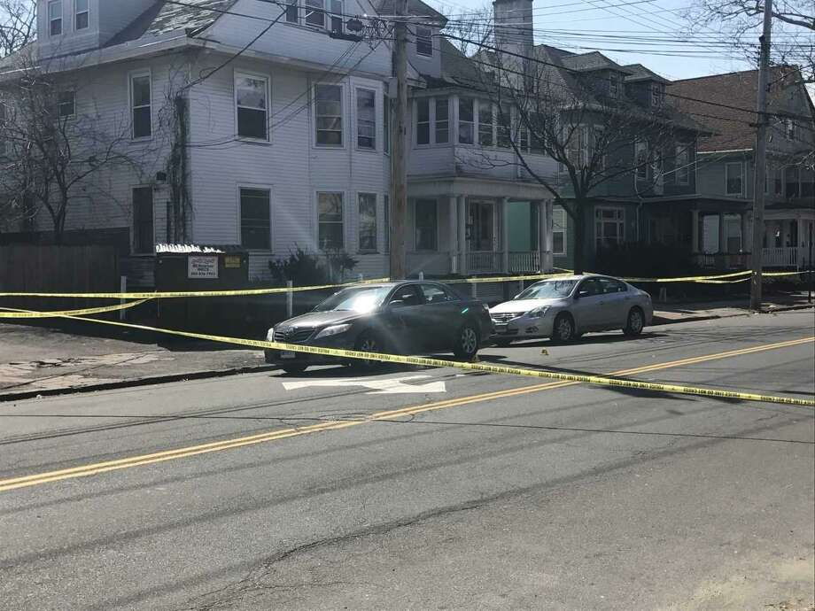 Scene of fatal, daytime shooting in New Haven Photo: Courtesy Of New Haven Police Dept.