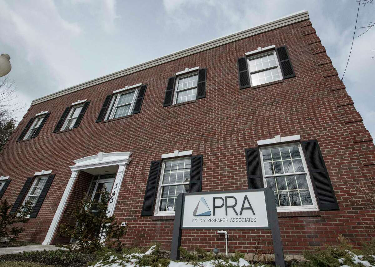 Exterior view of Policy Research Associates Thursday March 15, 2018 Delmar, N.Y. (Skip Dickstein/Times Union)