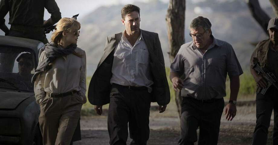 """Beirut"" starring Jon Hamm, center. Photo: Bleecker Street Media, HO / TNS / New York Daily News"