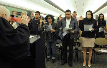 Citizenship means security for those sworn in at Danbury