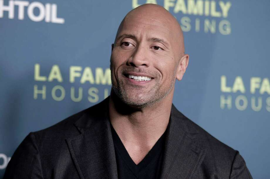 Dwayne Johnson attends the 2018 LA Family Housing Awards at The Lot Studios on Thursday, April 5, 2018, in West Hollywood, Calif. (Photo by Richard Shotwell/Invision/AP) Photo: Richard Shotwell / 2018 Invision