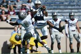 Yale wide receiver Christopher Williams-Lopez was inducted into the National Football Foundation's Hampshire Honor Society along with 21 of his teammates.