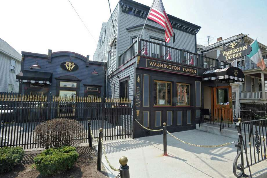 Exterior of the Washington Tavern in Albany.  (Lori Van Buren / Times Union) Photo: Lori Van Buren / 00012697A