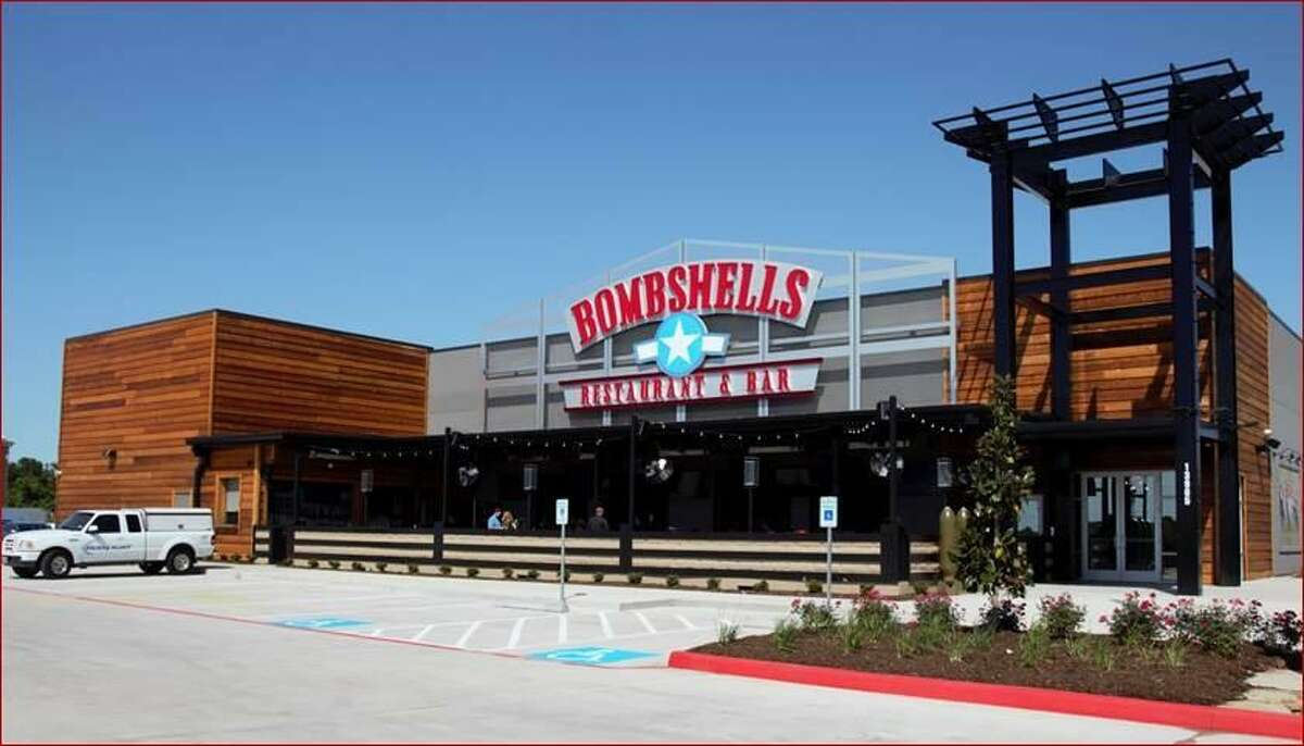Bombshells Restaurant & Bar has eight locations in the Houston area, including 13965 South Freeway, Pearland.