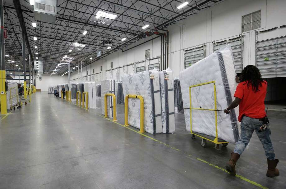 Serta Simmons Bedding opened a $100 million plant in Windsor Locks where it will make mattresses under its Serta and Beautyrest brands for shipment throughout the Northeast. At about 270,000 square feet, the plant matches the size of a Houston facility opened by Serta Simmons Bedding last year, pictured. Photo: Godofredo A. Vasquez / Houston Chronicle / Godofredo A. Vasquez