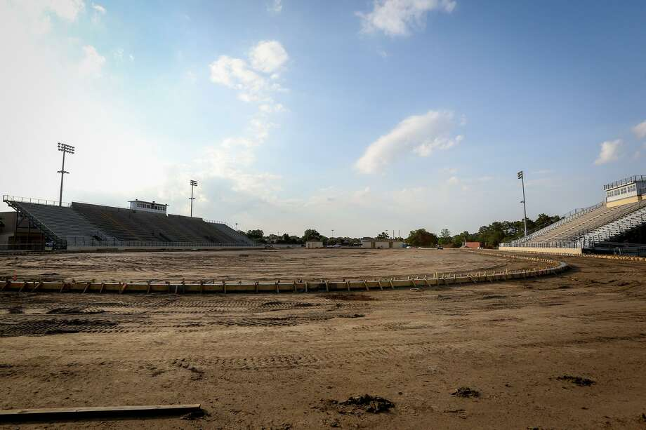 The Tomball ISD board of trustees will receive an update on the construction of a new stadium that is part of the $275 million bond approved by voters in 2017. Photo: Michael Minasi, Photographer / Internal
