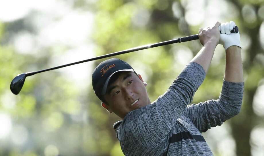 Doug Ghim hits on the fourth tee during the second round at the Masters golf tournament Friday, April 6, 2018, in Augusta, Ga. (AP Photo/Chris Carlson) Photo: Chris Carlson, STF / Associated Press / Copyright 2018 The Associated Press. All rights reserved.