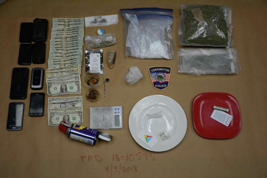Two people were arrested in a drug bust in Torrington this week. Photo: Courtesy Of Torrington PD