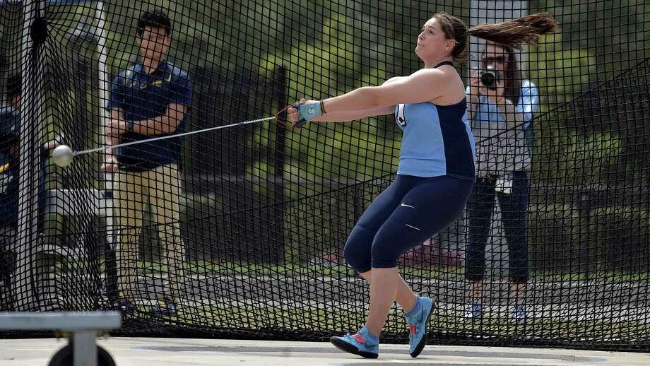 Shenendehowa graduate Jill Shippee of the North Carolina track team. (Courtesy of North Carolina Athletics)