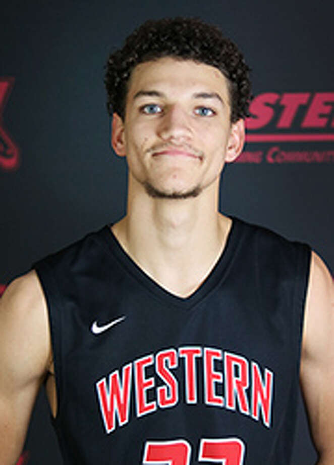 Nathan Fromm, 6-foot-5 shooting guard from Western Wyoming Community College, is expected to play at the University at Albany for the 2018-19 basketball season. (Photo courtesy Western Wyoming CC)