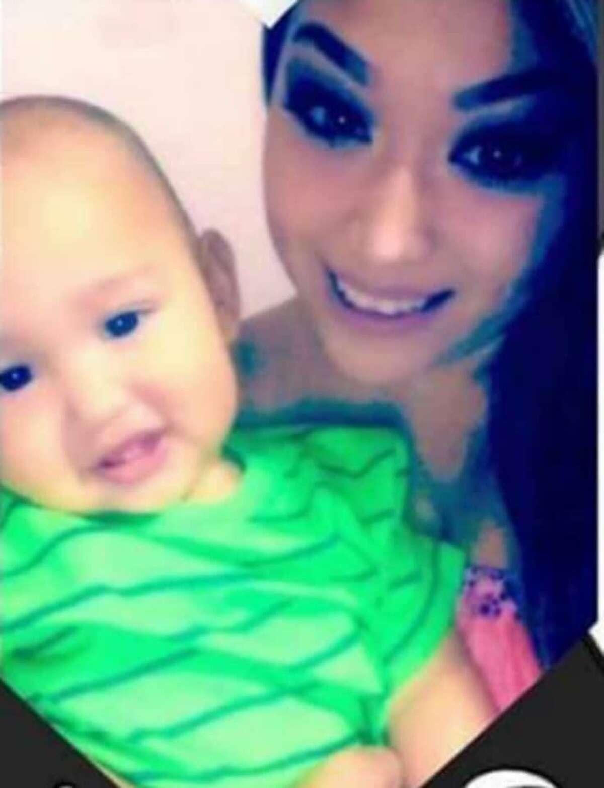 Grizelda Hernandez is shown with her son, Dominick.