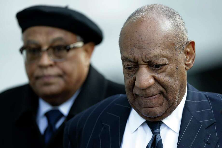 Bill Cosby departs after his sexual assault trial, Wednesday, April 11, 2018, at the Montgomery County Courthouse in Norristown, Pa. (AP Photo/Matt Slocum) Photo: Matt Slocum / Copyright 2018 The Associated Press. All rights reserved