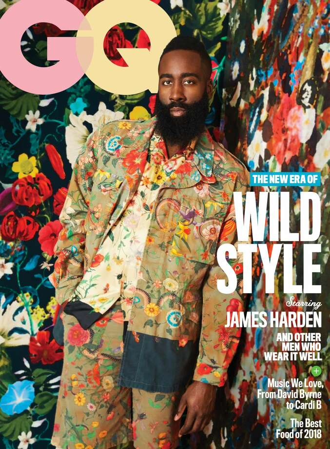 Houston Rockets star James Harden covers the May issue of GQ and shares inside information with the magazine. Photo: Erik Madigan Heck Exclusively For GQ