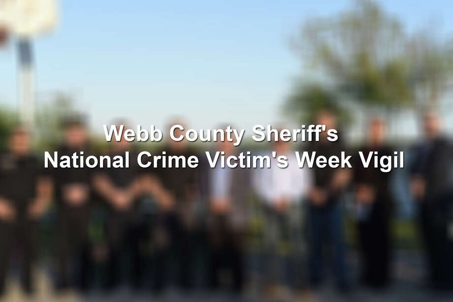 Webb County Sheriff's National Crime Victim's Week Vigil was held at Lake Casablanca, Wednesday, April 11, 2018. The event was held the same day as the Candlelight Vigil honoring the memory of recent domestic violence homicide victims Grizelda Hernandez and her baby Dominick Alexander Hernandez. Photo: LMTonline