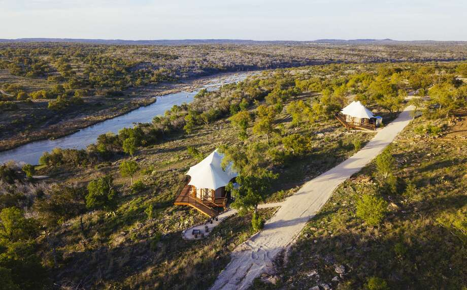 New luxury outdoor retreat Walden Retreats in Texasopens on April 19, 2018 and it redefines the meaning of camping in style and comfort. Photo: Will Graham Photography
