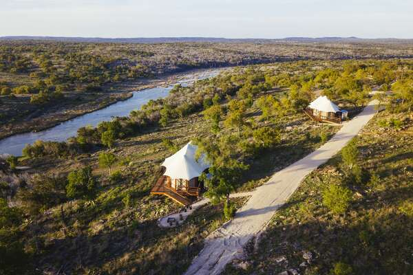 New luxury outdoor retreat Walden Retreats in Texas opens on April 19, 2018 and it redefines the meaning of camping in style and comfort.