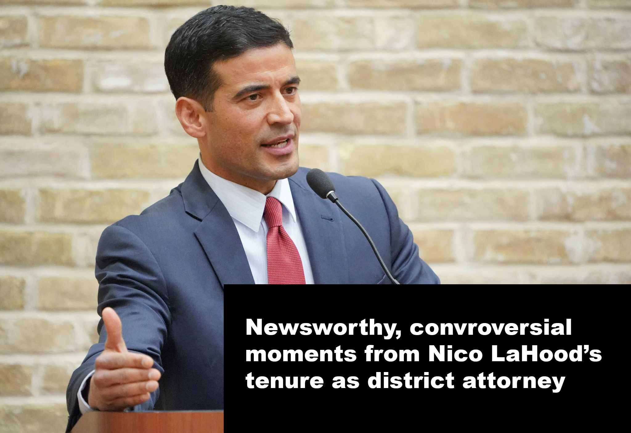 Controversial moments from Nico LaHood's tenure as Bexar