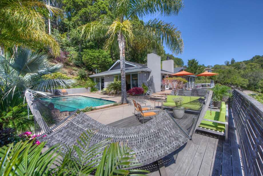 Your own private resort, 65 Corte Amado in Greenbrae asks $2.575M. Photo: Matt McCourtney Via Thomas Henthorne