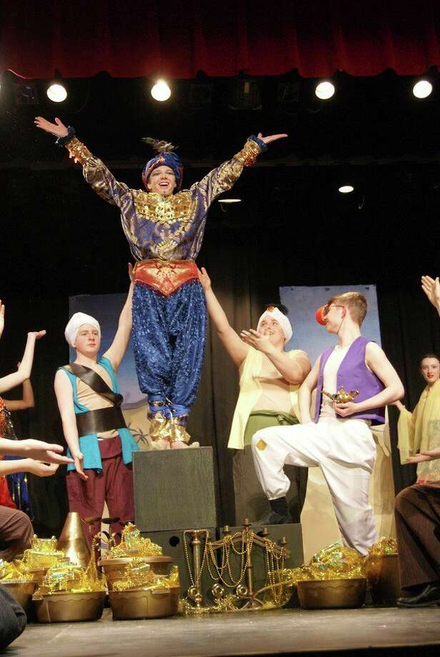 A scene from 'Aladdin Jr.,' produced in March. (Photo provided)