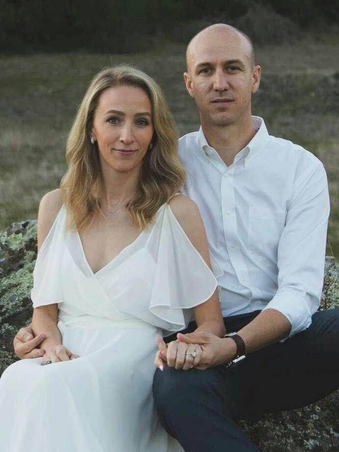 Megan Sands and Eric Schuda