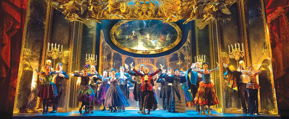 "The cast of ""Phantom of the Opera,"" which will be staged at The Fox, May 9-20. Photo: For The Edge"