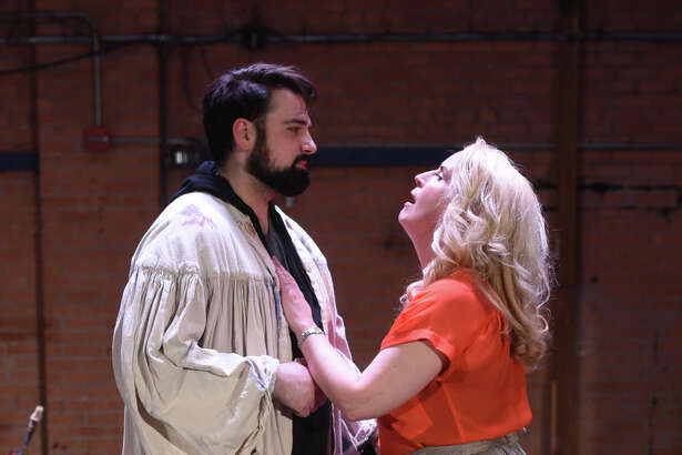 """Permian Basin Opera rehearsal for """"Tosca"""" April 11, 2018, at the Yucca Theater. James Durbin/Reporter-Telegram"""