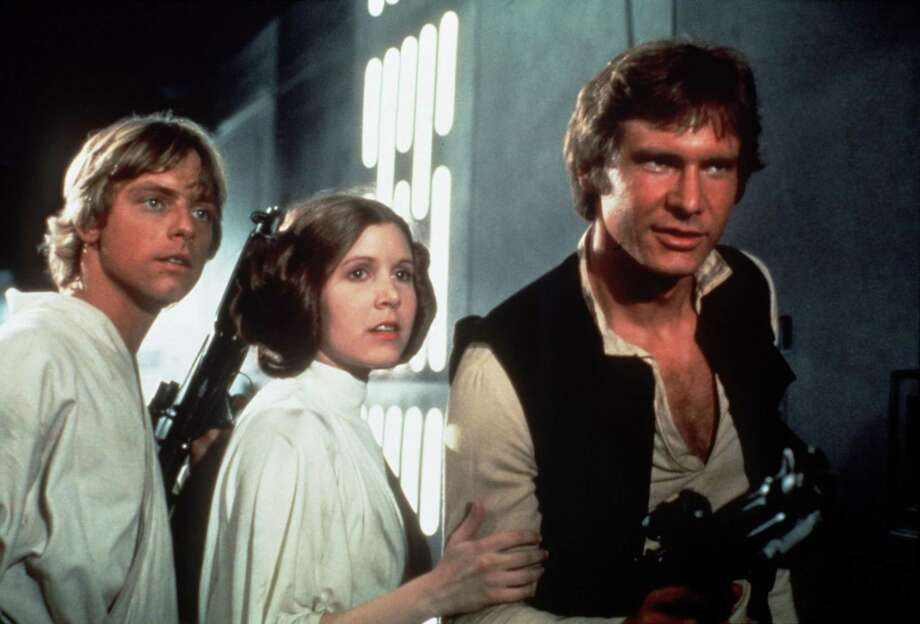 """In a special pops concert, the San Antonio Symphony will play John Williams' score to """"Star Wars: A New Hope"""" live to a screening of the movie. Photo: Twentieth Century Fox / handout slide"""