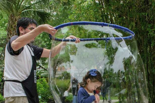 Ruby City is marking Earth Day with Bubble Fest.