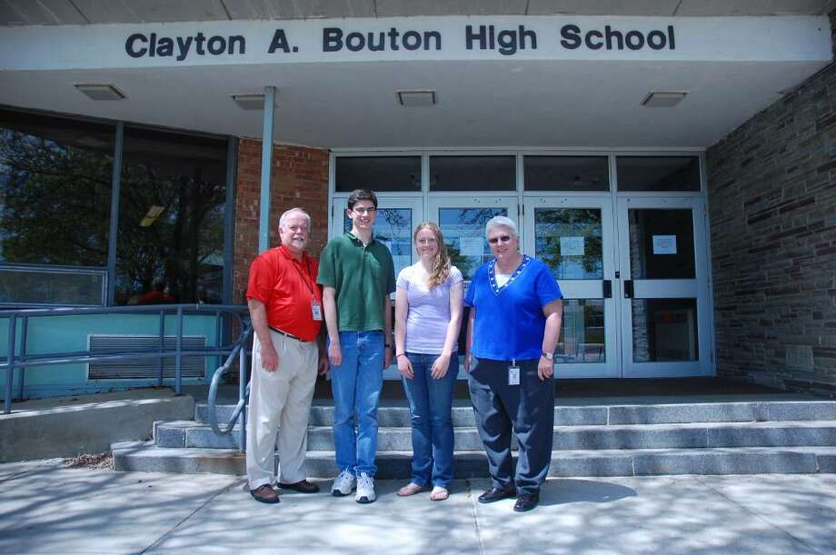 1. Clayton A. Bouton High School, Voorheesville Central School District. Total percentage of students going to college: 97%. Percentage attending 2-year college: 37%. Percentage attending 4-year college: 60%. View statewide report.