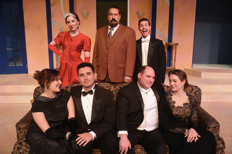 """A Comedy of Tenors,"" produced in cooperation with Midland College. 7:30 p.m. Fridays and Saturdays. 2:30 p.m. April 15. Through April 21 at Midland Community Theatre, 2000 W. Wadley Ave. $28. mctmidland.org. Photo: James Drubin/Reporter-Telegram"