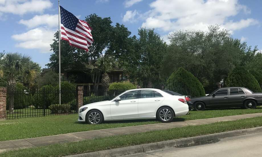 Pearland police are searching for a blue Mercedes Benz C300 that was stolen Thursday, April 12, 2018 during a home invasion robbery in the 3100 block of Yost. Photo: Denise Whatley