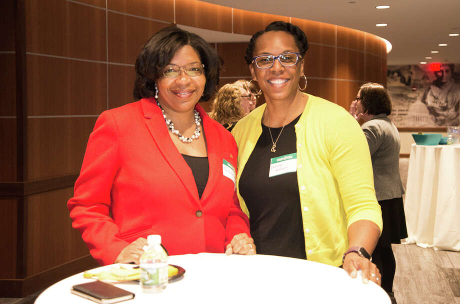 Were you seen at the Women@Work Changemaker Breakfast with Dorcey Applyrs, Albany Common Council Member-Ward 1 and Founder & CEO of InVision Her, at the Hearst Media Center on April 11, 2018? Not a member of Women@Work yet? Join today at womenatworkny.com/checkout/ Photo: Jordan Dunn