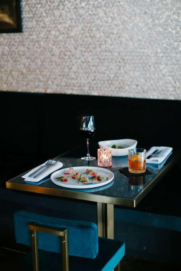 Tables at Hotel San Francisco. Photo: Jordan Wise