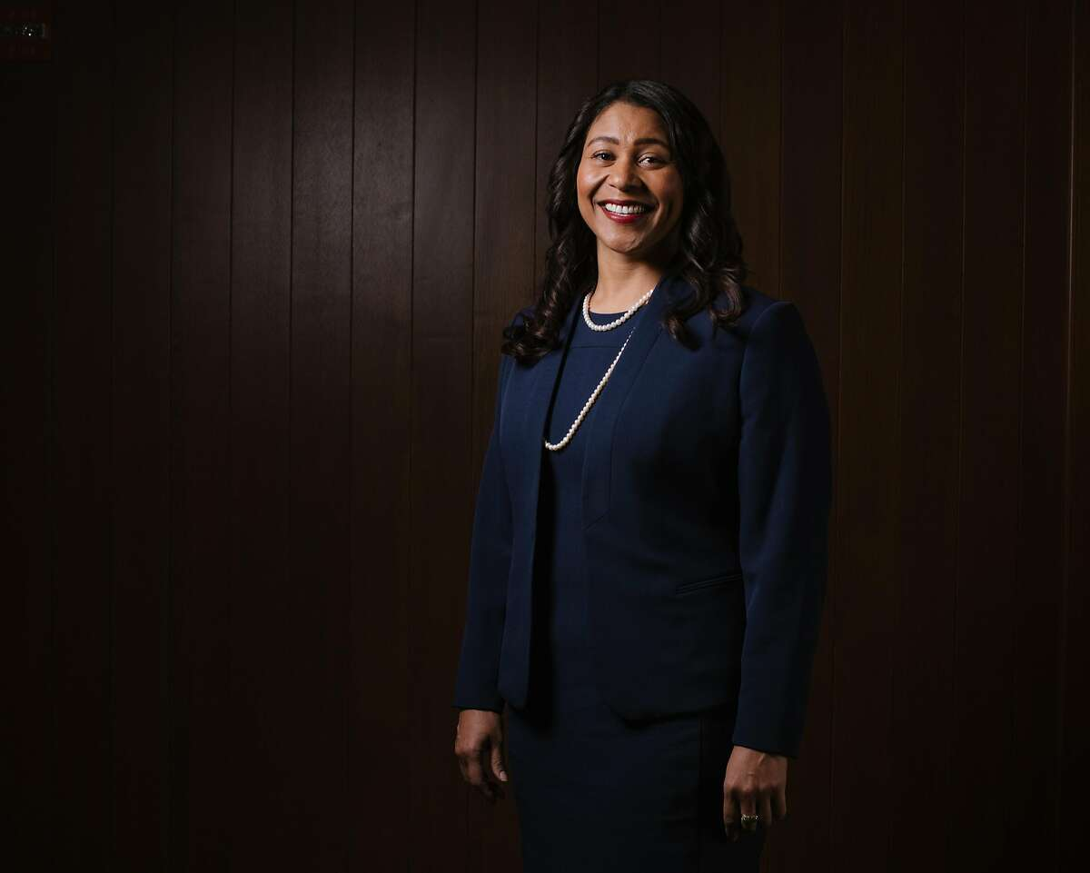 London Breed, San Francisco mayoral candidate, and President of the San Francisco Board of Supervisors, at the San Francisco Chronicle offices on March 29, 2018.