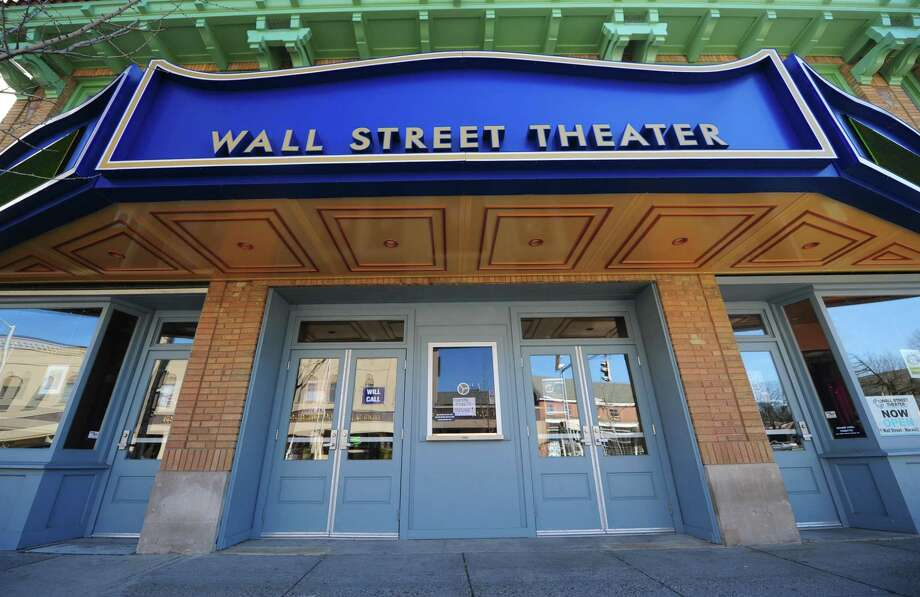 The Wall Street Theater, which remains open, declared bankruptcy after legal wrangling with builders who helped renovate the historic theater. Photo: Erik Trautmann / Hearst Connecticut Media / Connecticut Post