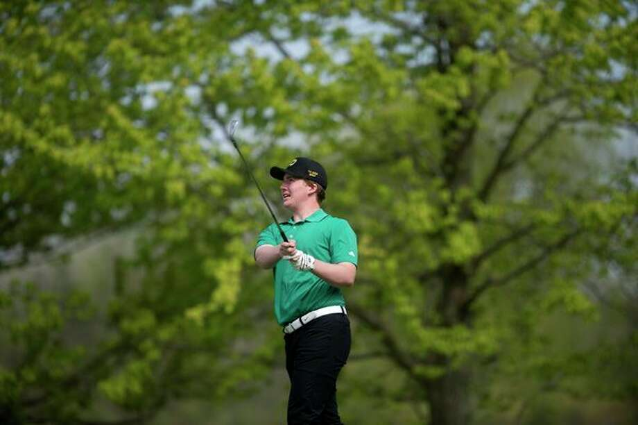 Senior Jon Baillargeon leads the Dow High golf team, which opens the season on Friday at the Lapeer Tune-up. (Daily News file photo)