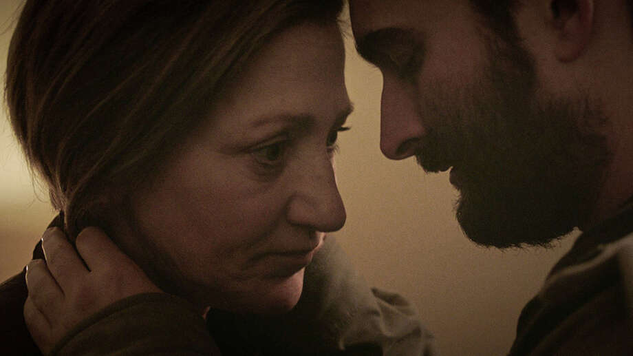 "Promotional shot for ""Outside In"" with Edie Falco (left) and Jay Duplass. Photo: Promotional"