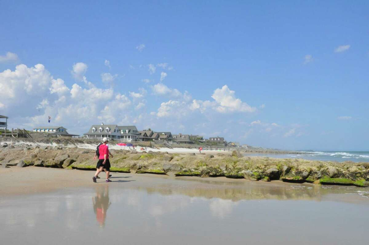 The barrier island of Pawleys Island is less than 4 miles long and known for its dunes and sure. The area is described as