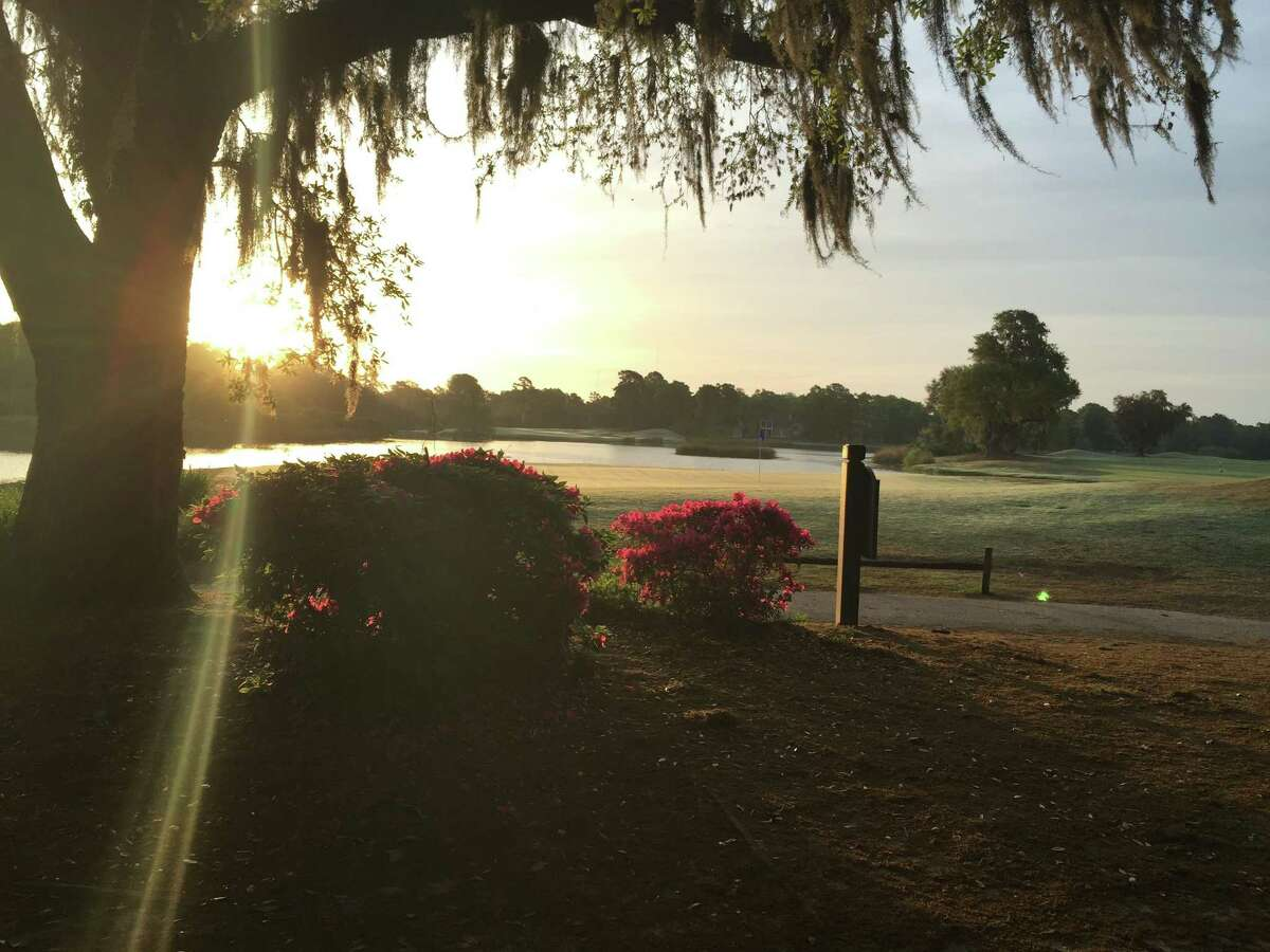 A scene from an early morning walk at Pawleys Island's Heritage Golf Course. (Joyce Bassett/Times Union)