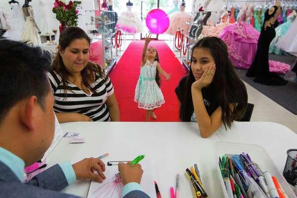 543c3287b4 A quinceañera story  Houston dressmaker helps girl s dreams come ...