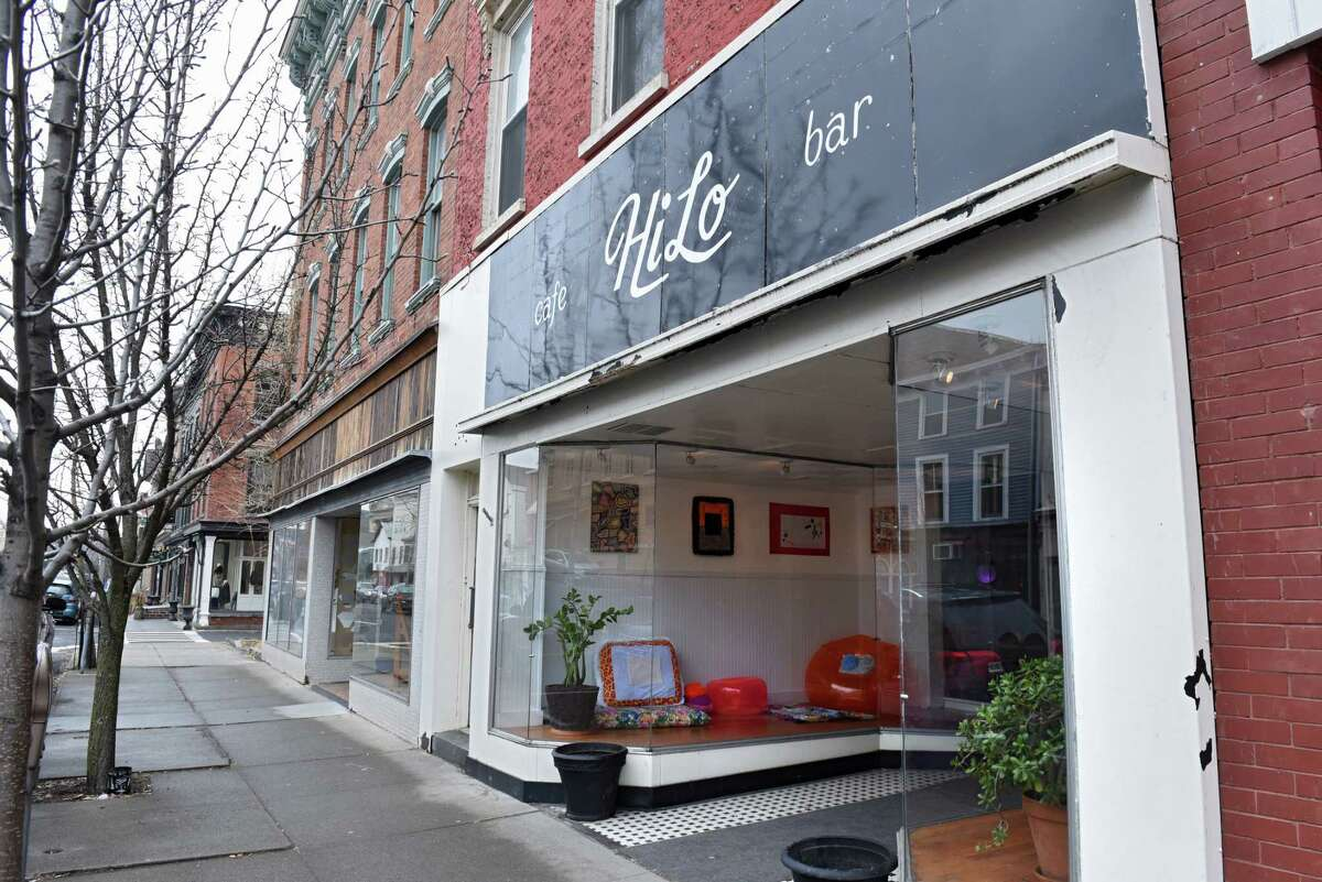 Exterior of HiLo Cafe, Bar, Art Gallery on Thursday, March 29, 2018 in Catskill N.Y. (Lori Van Buren/Times Union)