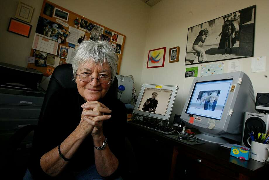 Director Ann Hershey spent seven years making a documentary about Tillie Olsen, the famed Bay Area writer and activist who died a year ago. Photo: Liz Hafalia / The Chronicle 2008