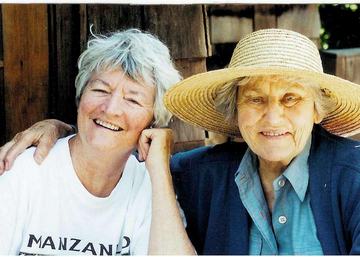 Ann Hershey with Tillie Olsen Photo courtesy of Olsen family