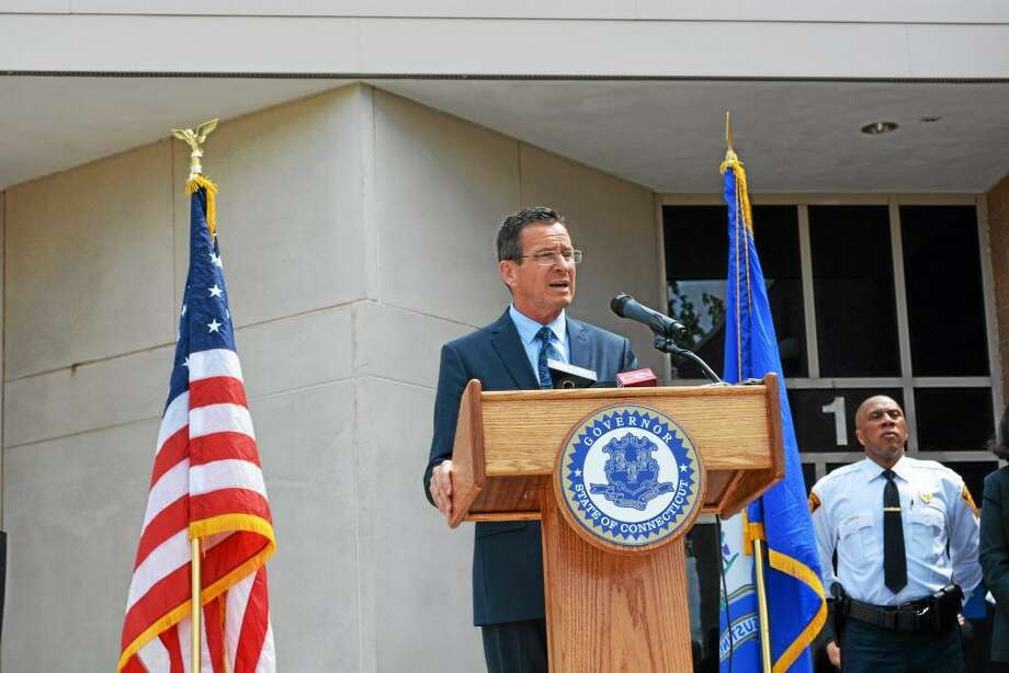"Gov. Dannel P. Malloy addressed his Second Chance Society initiative with reporters in May 2015 following a tour of the Connecticut Juvenile Training School on Silver Street, calling the proposed reform ""a realization that we went too far."" Photo: File Photo"