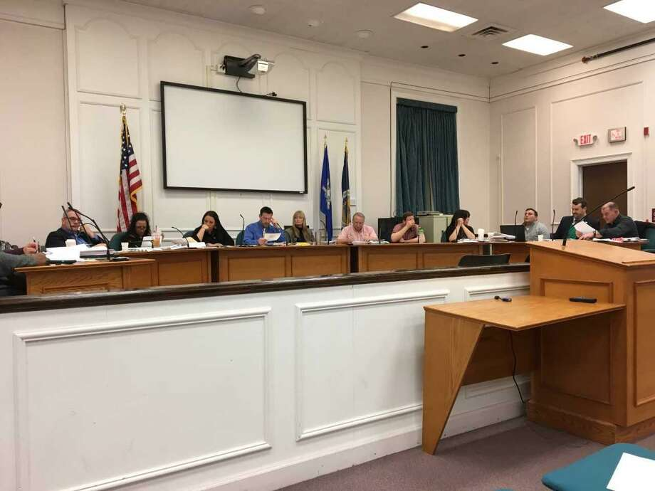 The West Haven City Council debates charter revision  Monday. Photo: Mark Zaretsky / Hearst Connecticut Media