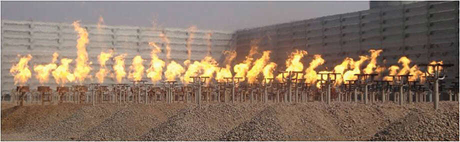 Flaring gases is usually done after a company determines it's the most efficient way to handle the gases. Photo:   Photo Courtesy Chemical Engineering Magazine