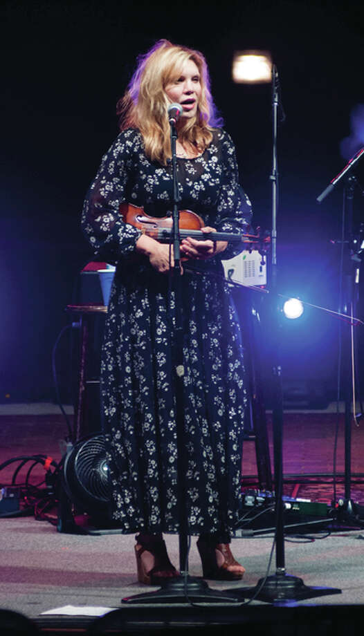 Alison Krauss, winner of 27 Grammy Awards, will headline this year's Feed the Need Concert. Krauss and her band, Union Station, performed as the headliner for Senior Services Plus fundraiser concert in 2015. Photo:       Dan Cruz | For The Telegraph